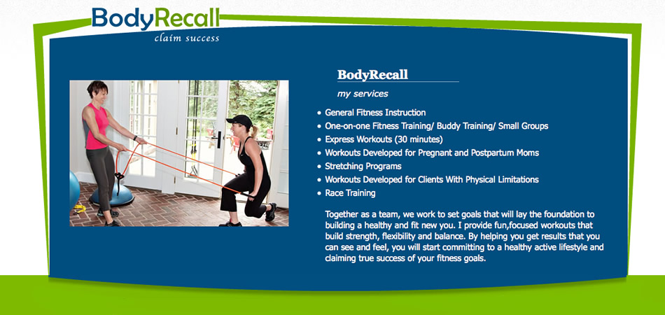 Body Recall PAGE